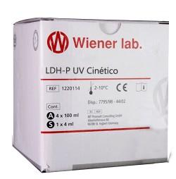 LDH-P DESHIDROGENASA LACTICA UV AA LIQUIDA 4x20 + 1x20 ml WIENER LAB