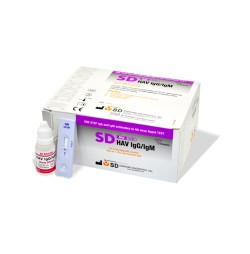 HEPATITIS A (HAV) IGG/IGM  25 CASSETTES SD BIOLINE