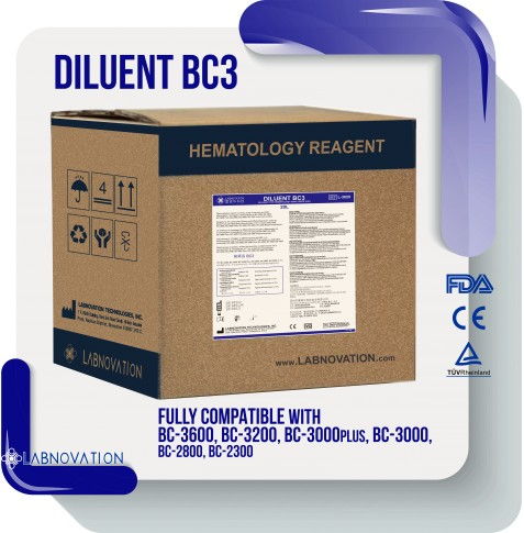 DILUENT PARA MINDRAY BC3 20LT LABNOVATION